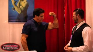Motor City Comic Con 2015 - Lou Ferrigno Interview