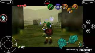 Jugando the legend of Zelda ocarina of time castillo de Hyrule y la revolución de las piedras RRARAS