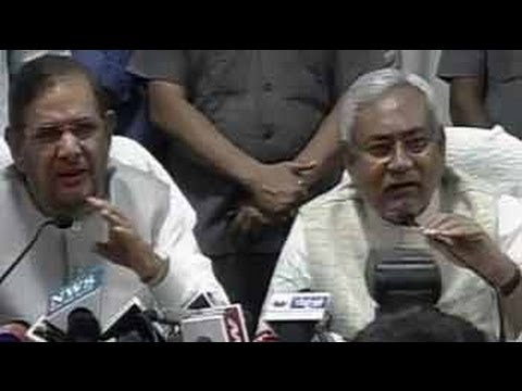 Sharad Yadav, Nitish Kumar on ending ties with BJP