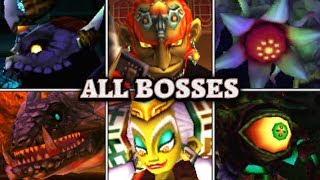 Zelda: Ocarina of Time 3D - All Bosses & Ending (No Damage)