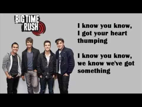 I Know You Know - Big Time Rush Ft. Cymphonique Lyrics