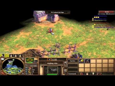 Age of empires 3 - Jogando com o Brasil