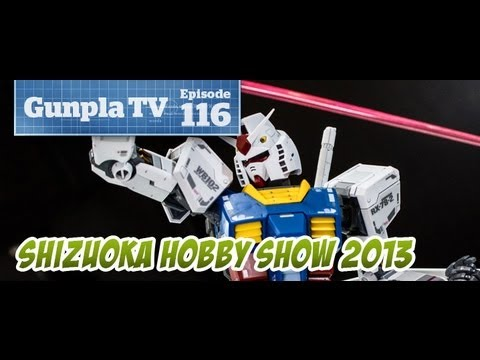 Gunpla TV at Shizuoka Hobby Show 2013! - Hlj.com