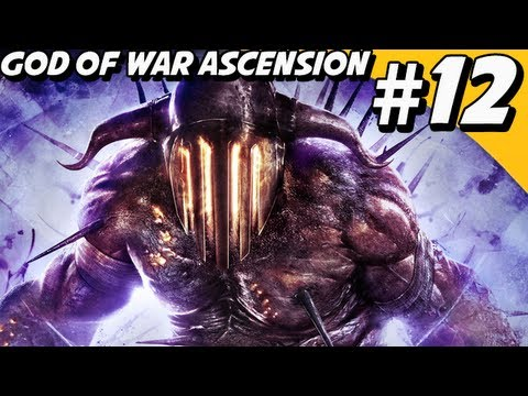God of War 4 Ascension Walkthrough Part 12 - Soul of Hades, Delphi Catacombs [GoW 4]