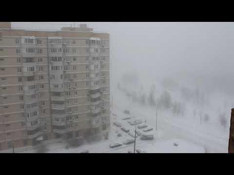 04.02.2018. Москва. Снегопад