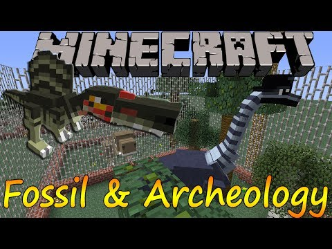 Minecraft 1.5.2 - Fossil and Archeology / Español
