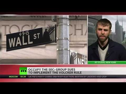 Occupy the SEC sues the government over 'Volcker Rule'