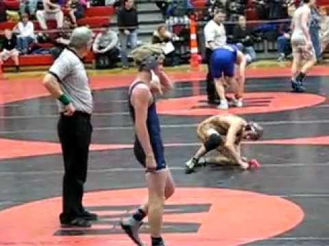 MYAS Final 7_8 125 lbs - Connor Williams LAW  vs Dalton Miller Anoka.AVI