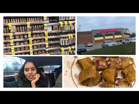 #DIML/ Walgreens pharmacy/drugstore makeup/ crispy cut mirchi