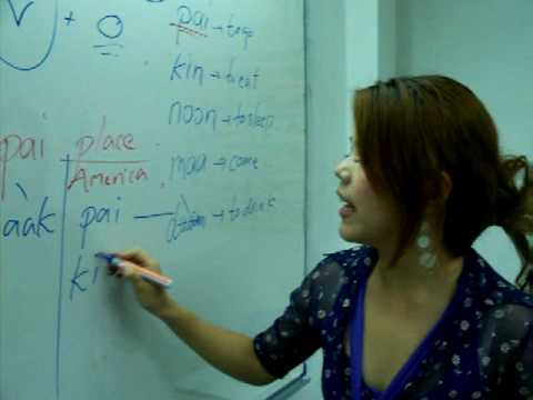 Thai language lesson : Basic Structure