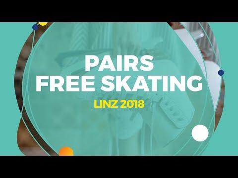 Poluianova Anastasia / Sopot Dmitry (RUS)   Pairs Free Skating   Linz 2018