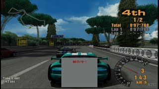 Gran Turismo 3 Demo (OPS2M Demo 05) - Hidden/Secret Cars & Tracks PS2 Gameplay HD