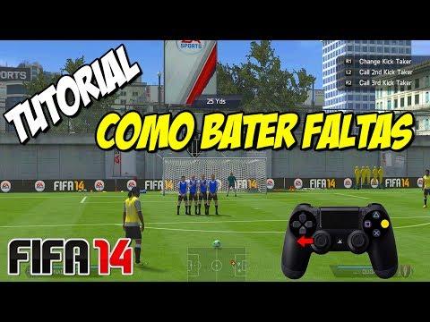 FIFA 14 TUTORIAL: DICAS DE COMO BATER FALTAS