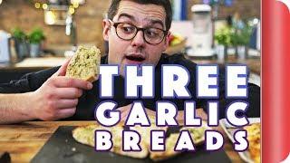 3 Ways to Improve Your Garlic Bread