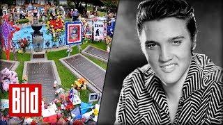 Elvis Presley - 40. Todestag - BILD zu Besuch in Graceland