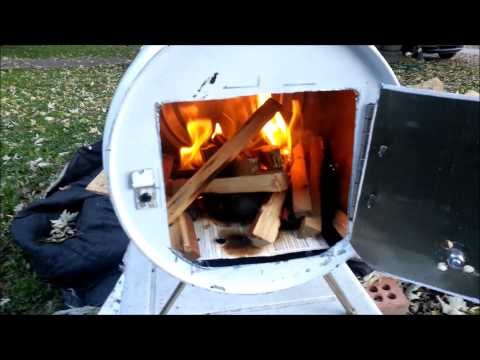 How to build a Portable wood stove / camping stove.