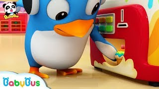 What's in the vending machine | Children's Song | Animation | Cartoon | BabyBus