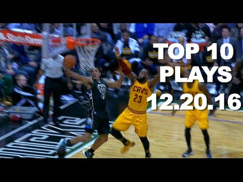 Top 10 NBA Plays: 12.20.16
