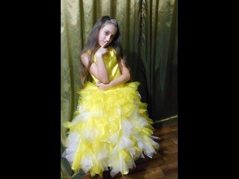 #Нарядное_платье для девочки своими руками, #мастер-класс