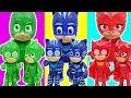 Clone PJ Masks appeared!! Defeat the Robot PJ Masks!! - DuDuPopTOY