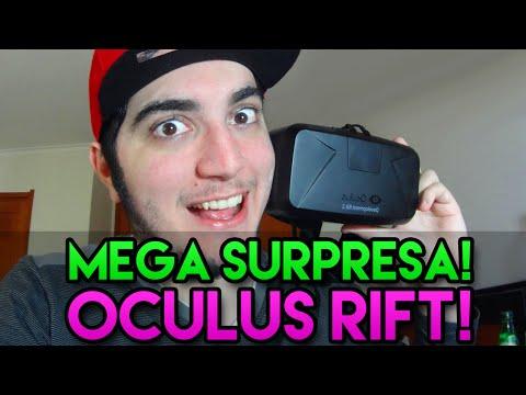 MEGA SURPRESA! - OCULUS RIFT!!