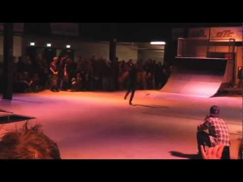 Longboard Dance Contest - Eindhoven (NL) - Dancing Highlights and Best Runs [17.02.2013]