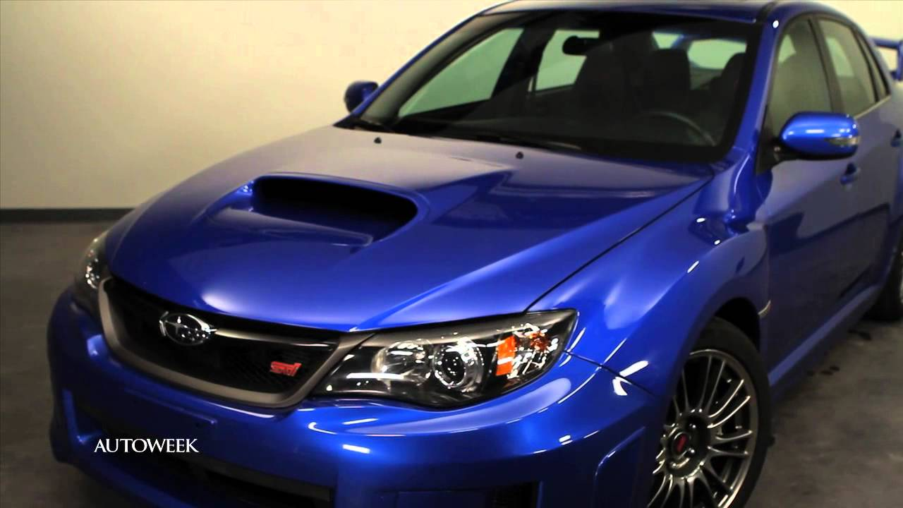 Subaru Impreza Wrx Sti The Wrap Up Autoweek Tv Youtube