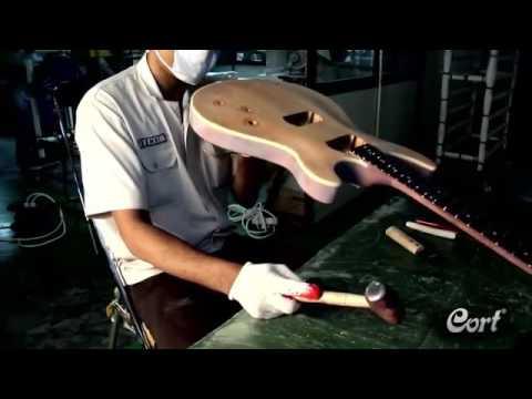 Proses pembuatan gitar Cort Electric Guitar Indonesia