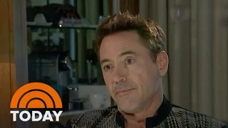Robert Downey Jr. Walks Out Of 'Avengers' Interview with ITN | TODAY