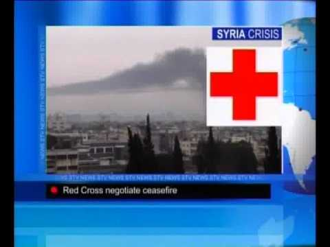 Syria Crisis-Red Cross Negotiate Ceasefire