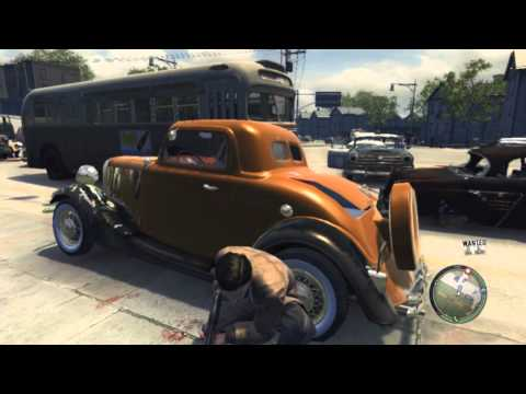 cop shoot out MAFIA 2