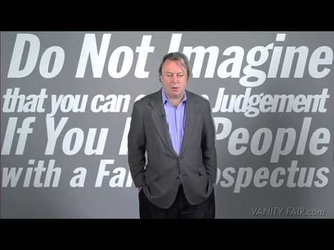 VANITY FAIR: Christopher Hitchens's Ten Commandments