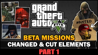 GTA V - Cut Features During Missions [Beta Analysis] [Part 1] - Feat. SpooferJahk [ESP, TRK Subs]