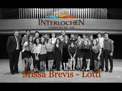 Лотти Антонио - Missa brevis in F