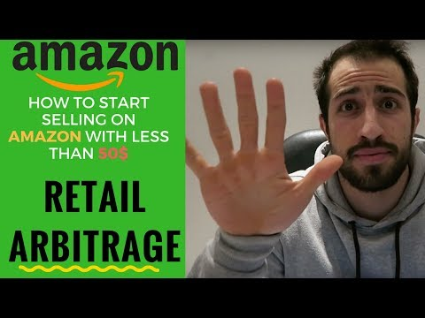 Amazon Retail Arbitrage - How to make money online from Home with less than 50$  in 2018 (EASY)