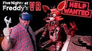 REPARANDO ROBOTS en FIVE NIGHTS AT FREDDYS VR: HELP WANTED