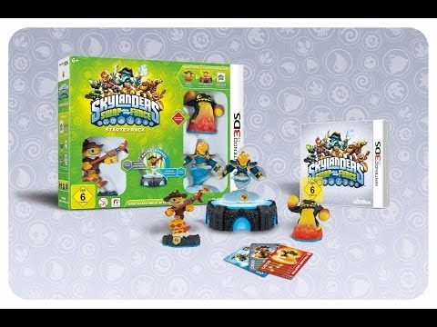 Skylanders Swap Force 3DS Starter Pack Unboxing und Anspielen (German/Deutsch)