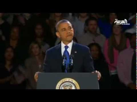 image vid�o  أوباما في خطاب النصر الأفضل قادم لأمريكا