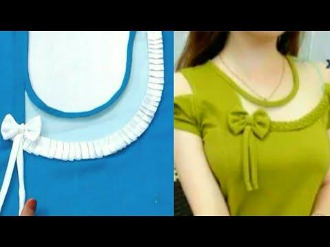 Tulip neck design/Latest neck Cutting and stitchingअभी तक का सबसे खूबसूरत डिजाइन (very easy way)