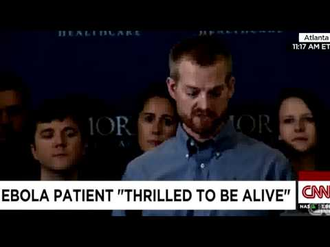 WATCH: US Doctor contracted with Ebola Released from Atlanta Hospital
