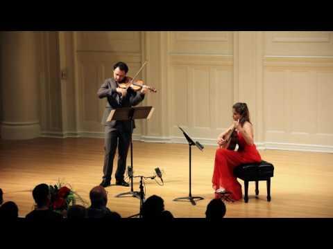 Piazzolla: Night Club 1960 Ana Vidovic (guitar) & David Lisker (violin)
