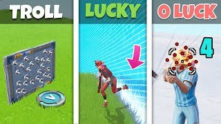 TROLL vs LUCKY vs UNLUCKY  from Oh Long Johnson