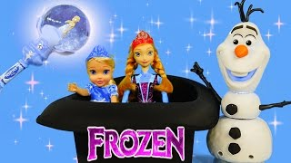 FROZEN Let It Go Musical Elsa Snow Wand Olaf Barbie Dolls Elsa Anna Play Doh Peppa Pig Cars
