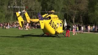 2-jarig meisje gered door omstanders bij Het Hulsbeek in Oldenzaal, traumahelikopter opgeroepen