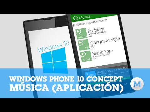Windows 10 (phone) - Music App 【concept】 video