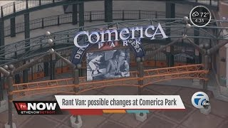 Possible name change for Comerica Park