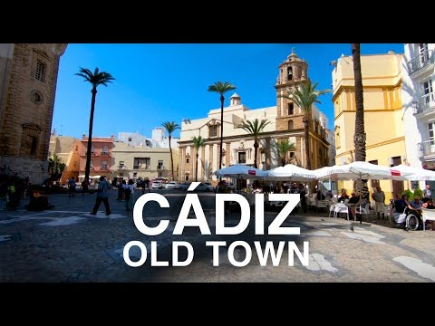 [4K] CADIZ, SPAIN WALKING TOUR - What to See In Cadiz In One Day
