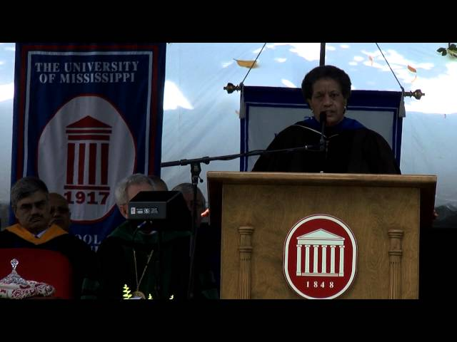 Myrlie Evers Williams Commencement Address