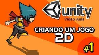 Personagem e Animação - Vídeo Aula - Unity 2D - Criando um jogo 2D