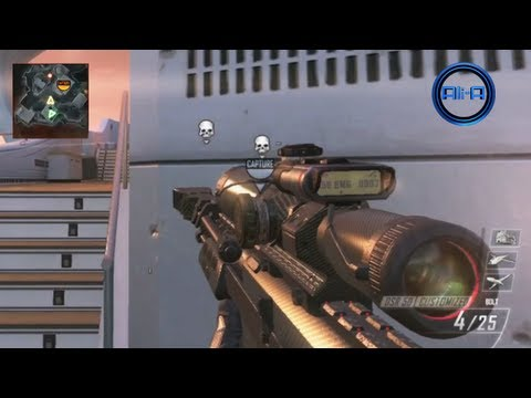 BLACK OPS 2 multiplayer GAMEPLAY - SNIPING DSR & B23R Best Pistols! - Call of Duty BO2 Online